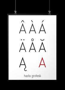 hasta grotesk font